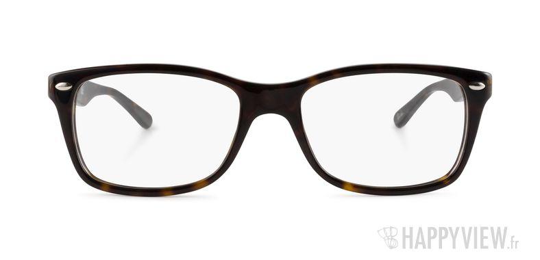 Lunettes de vue Ray-Ban RX 5228 Large écaille - vue de face