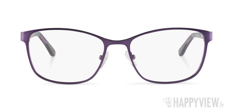 Lunettes de vue Happyview Agen violet - vue de face