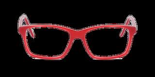 Lunettes de vue Happyview CAMILLE rouge fabriquées en France