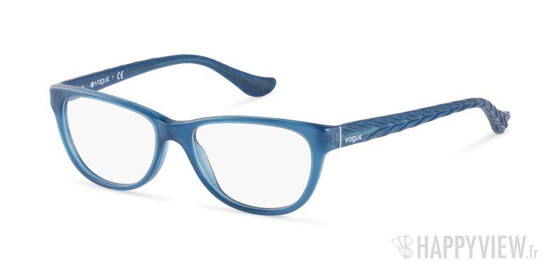 Lunettes de vue Vogue VO 2816 bleu - vue de 3/4