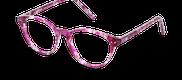 Lunettes de vue Happyview CAPUCINE rose - vue de 3/4 miniature