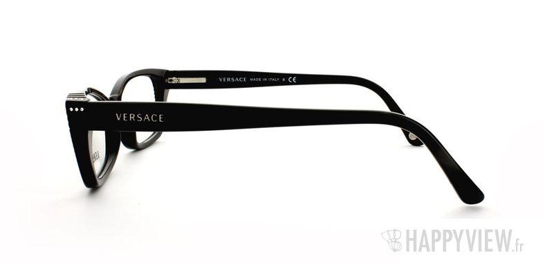Lunettes de vue Versace VERSACE 3150B noir - vue de côté