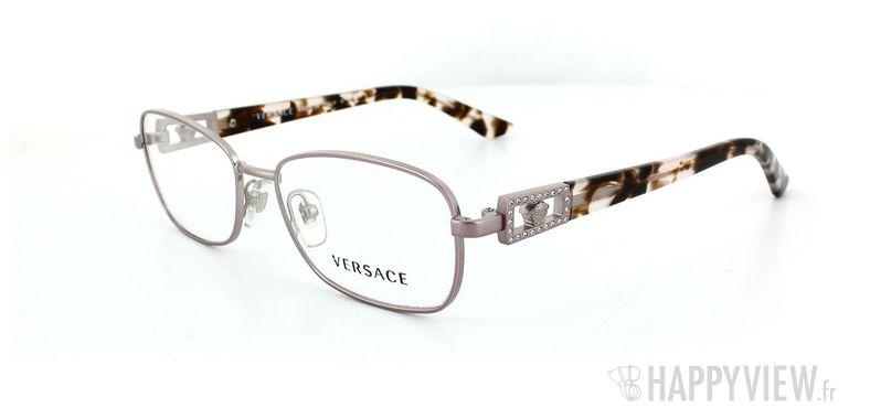 Lunettes de vue Versace Versace 1216B rose - vue de 3/4