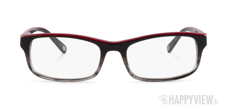 Lunettes de vue Kenzo KZ 4184 gris/rouge - vue de face