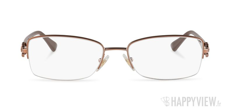 Lunettes de vue Vogue VO 3875B marron - vue de face