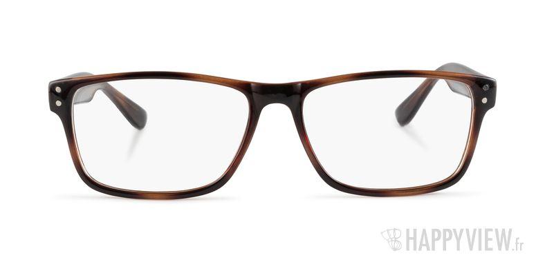 Lunettes de vue Happyview Chelles marron - vue de face