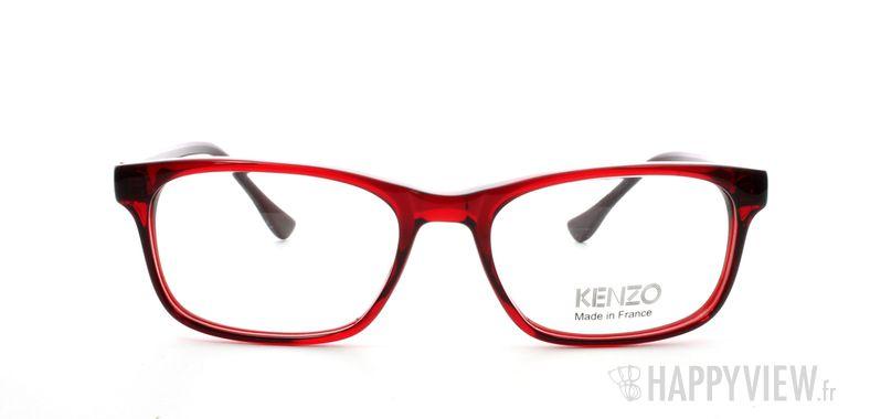 Lunettes de vue Kenzo Kenzo 2211 rouge - vue de face