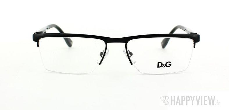 Lunettes de vue Dolce & Gabbana D&G 5104 noir - vue de face