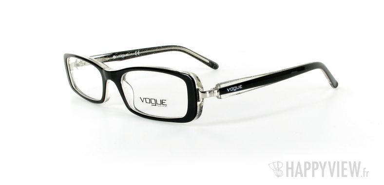 Lunettes de vue Vogue Vogue 2647 noir - vue de 3/4