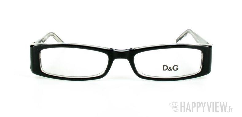 Lunettes de vue Dolce & Gabbana D&G 1127 noir - vue de face