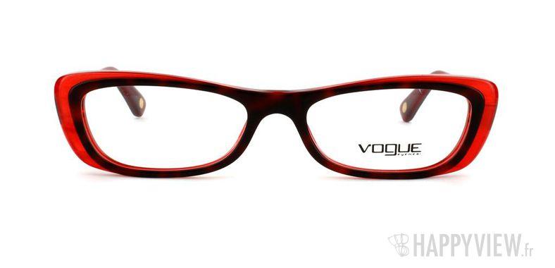 Lunettes de vue Vogue Vogue 2707 rouge/écaille - vue de face