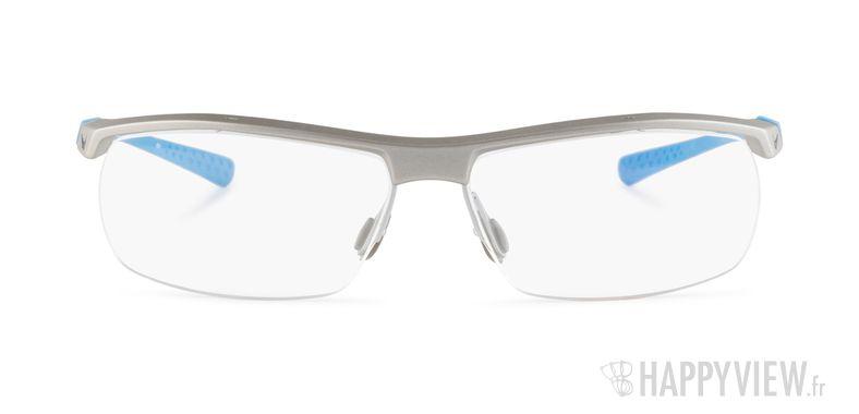 Lunettes de vue Nike 7071 bleu/gris - vue de face