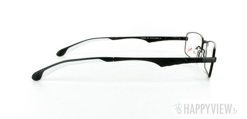 Lunettes de vue Puma Puma 15246 noir/blanc - vue de côté