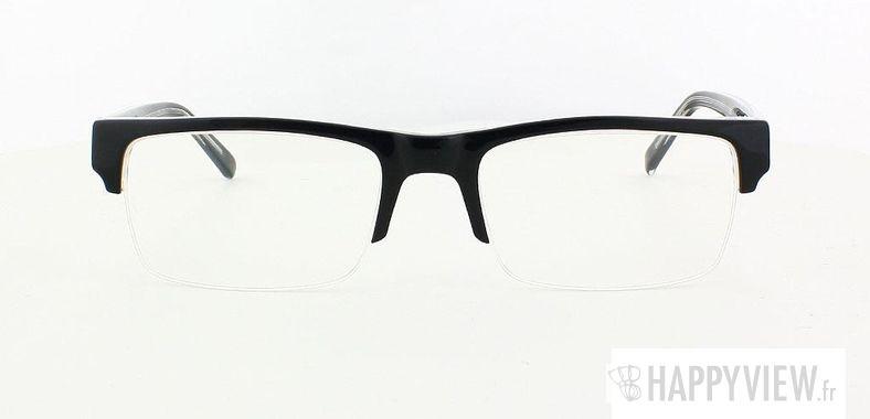 Lunettes de vue Happyview Grenoble noir - vue de face