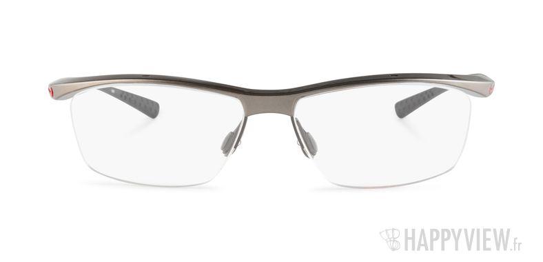 Lunettes de vue Nike 7070 gris/rouge - vue de face