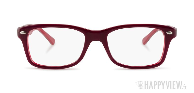 Lunettes de vue Ray-Ban RY 1531 Junior rouge/rouge - vue de face