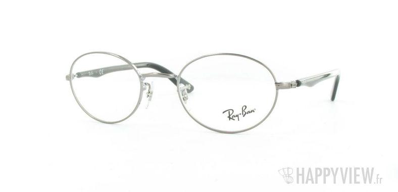 Lunettes de vue Ray-Ban Ray-Ban RX6161 gris - vue de 3/4