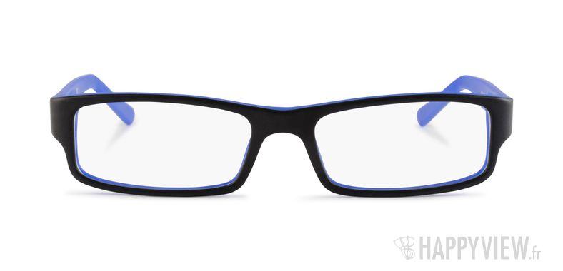 Lunettes de vue Ray-Ban RX 5246 noir/bleu - vue de face