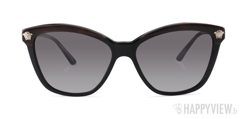 Lunettes de soleil Versace VE 4313 noir/écaille - vue de face
