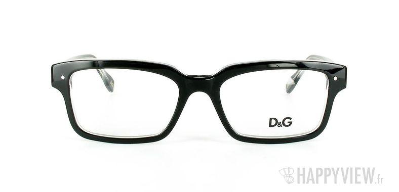 Lunettes de vue Dolce & Gabbana D&G 1176 noir - vue de face