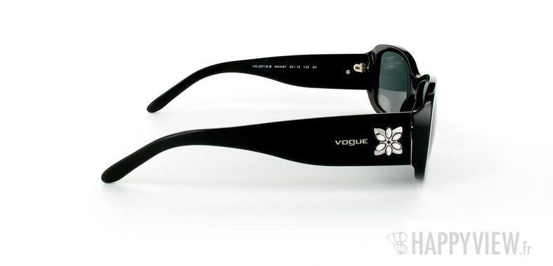 Lunettes de soleil Vogue Vogue 2571S noir - vue de côté