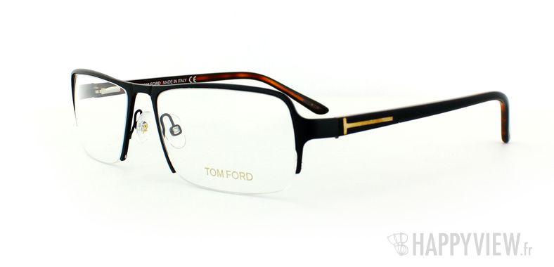 Lunettes de vue Tom Ford Tom Ford 5110 noir - vue de 3/4
