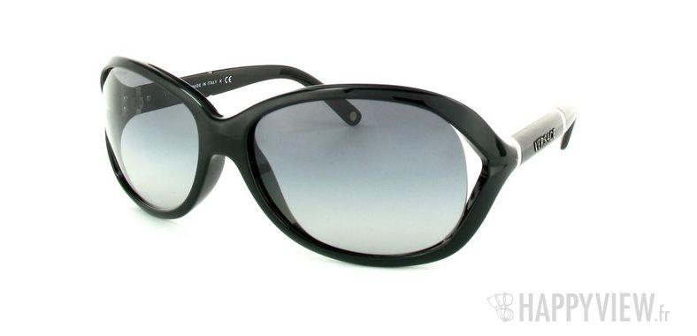 Lunettes de soleil Versace Versace VE4186 noir - vue de 3/4