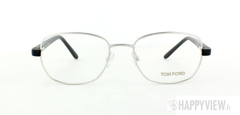 Lunettes de vue Tom Ford Tom Ford 5152 argenté/noir - vue de face
