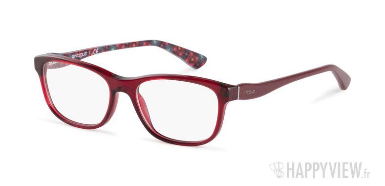 Lunettes de vue Vogue VO 2908 rouge - vue de 3/4