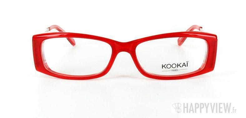 Lunettes de vue Kookaï Kookai 102 rouge - vue de face