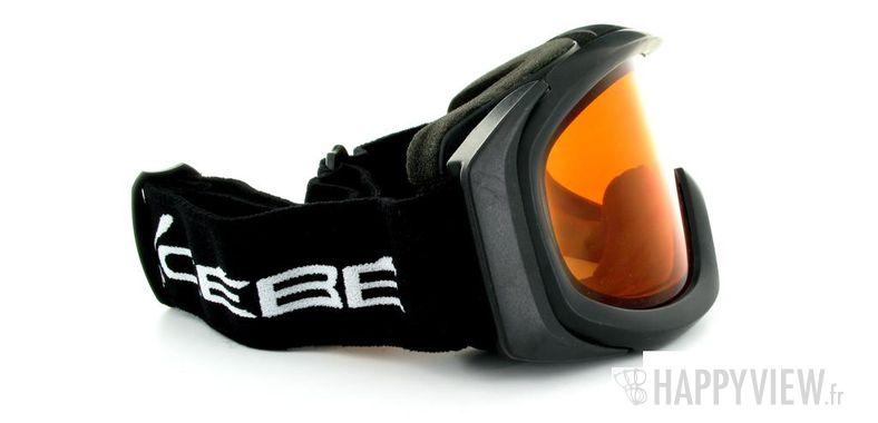 Lunettes de soleil Cébé Cébé Eco (Par dessus vos lunettes) Large noir - vue de côté