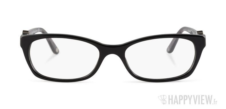 Lunettes de vue Versace VE 3164 noir - vue de face