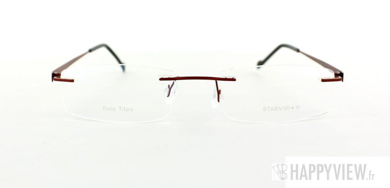 Lunettes de vue Starvision by Seiko Starvision 1009 Titane rouge - vue de face