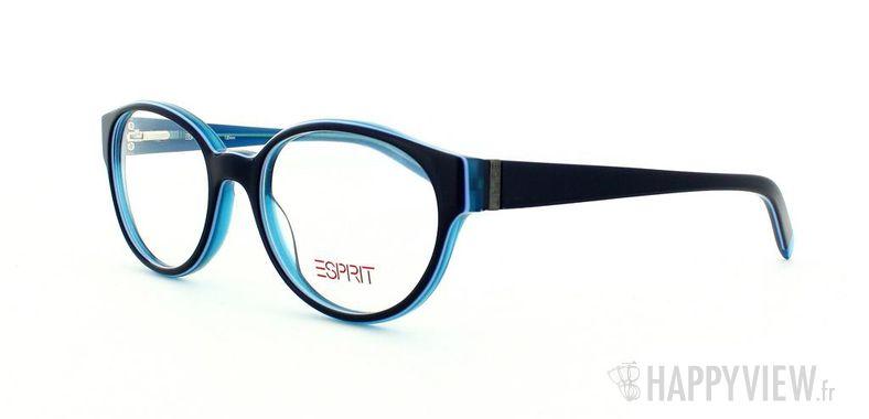 Lunettes de vue Esprit Esprit 17339 bleu/bleu - vue de 3/4