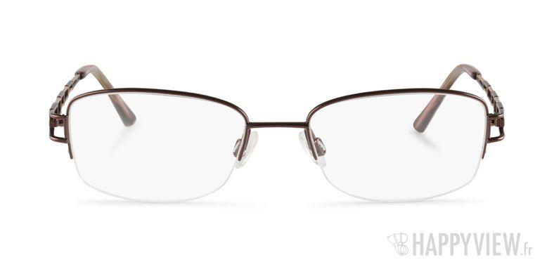 Lunettes de vue Charmant 10818 Titane marron/doré - vue de face