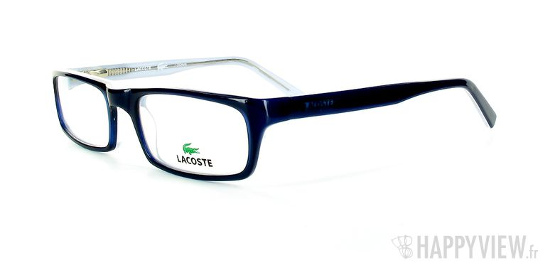 Lunettes de vue Lacoste Lacoste 12009 bleu - vue de 3/4