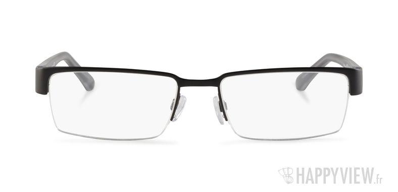Lunettes de vue Emporio Armani EA 1006 noir - vue de face