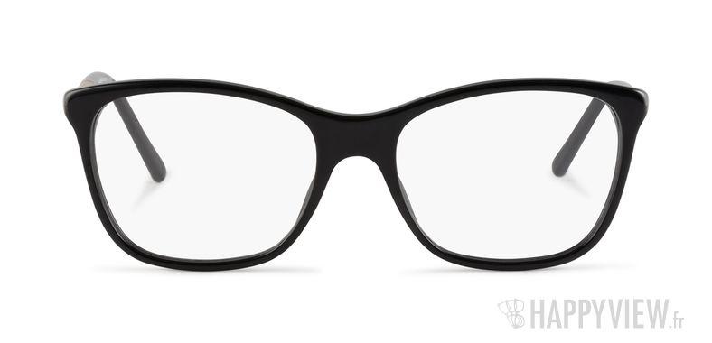 Lunettes de vue Burberry BE 2141 noir - vue de face