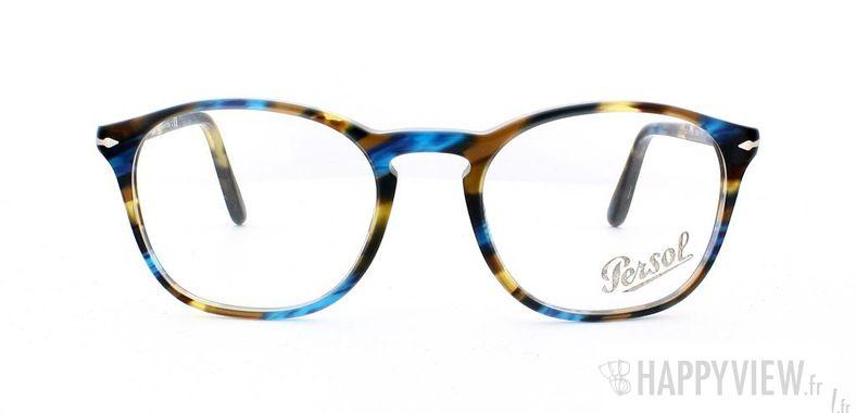 Lunettes de vue Persol Persol 3007V écaille/bleu - vue de face