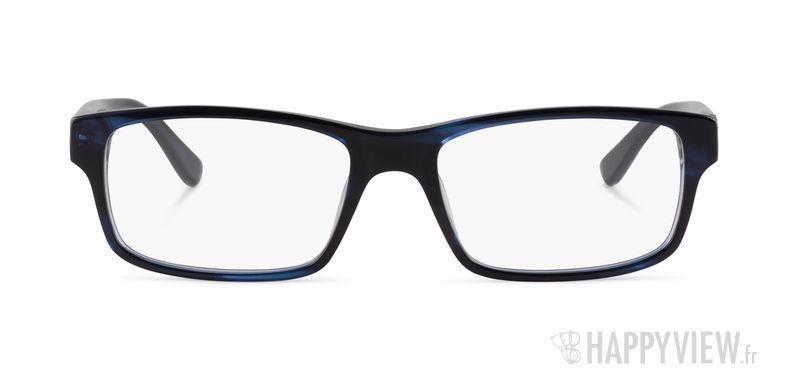 Lunettes de vue Lacoste L 2705 noir/bleu - vue de face