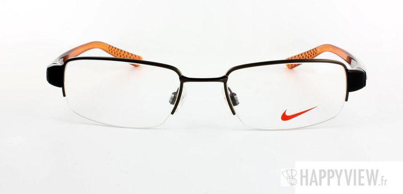 Lunettes de vue Nike Nike 8062 marron/orange - vue de face