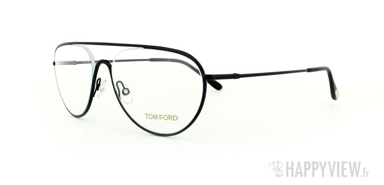 Lunettes de vue Tom Ford Tom Ford 5154 noir - vue de 3/4