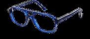 Lunettes de vue Happyview LEON bleu - vue de 3/4 miniature