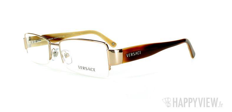 Lunettes de vue Versace VERSACE 1172 doré - vue de 3/4