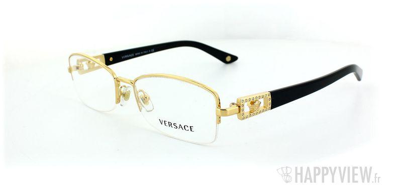 Lunettes de vue Versace Versace 1206B doré - vue de 3/4