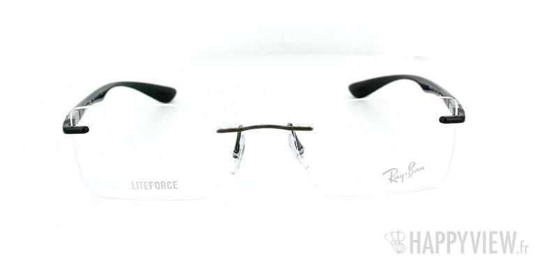 Lunettes de vue Ray-Ban Ray-Ban RX8720 Titane noir - vue de face