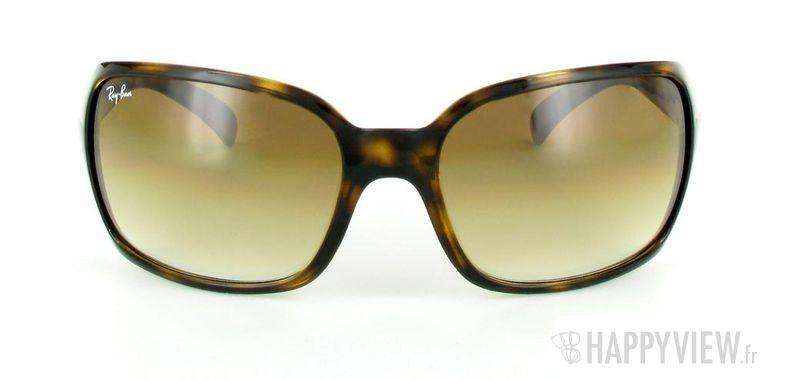 Lunettes de soleil Ray-Ban Ray-Ban RB4068 écaille - vue de face