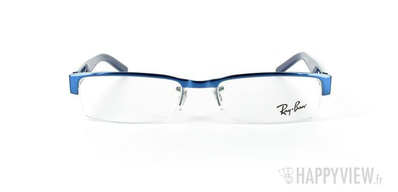 Lunettes de vue Ray-Ban Ray-Ban RX6182 bleu - vue de face