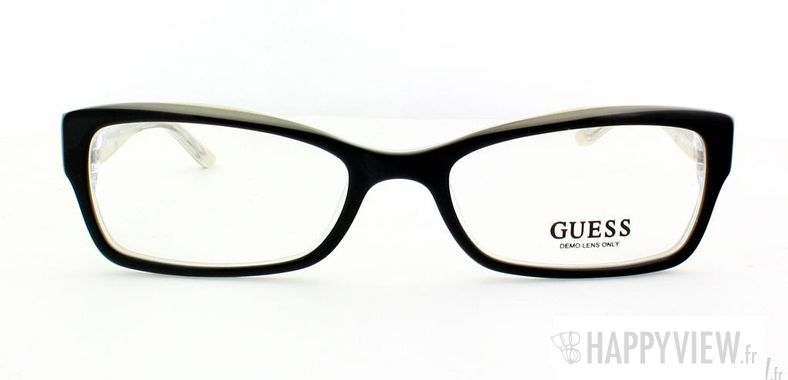 Lunettes de vue Guess Guess 2261 noir - vue de face