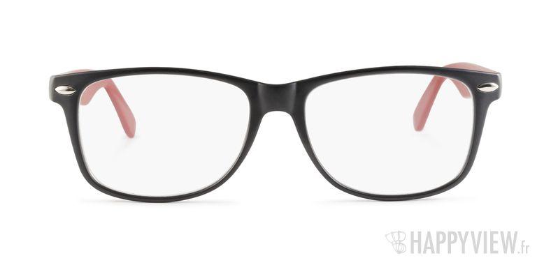 Lunettes de vue Happyview Antibes rouge/noir - vue de face
